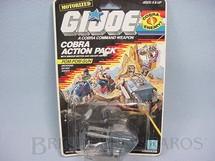 1. Brinquedos antigos - Hasbro - Action Pack Cobra Pom-Pom Gum completo lacrado Ano 1987