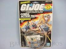 1. Brinquedos antigos - Hasbro - Action Pack Cobra Rope Crosser completo lacrado Ano 1987