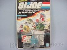 1. Brinquedos antigos - Hasbro - Action Pack Helicopter completo lacrado Ano 1987