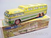 1. Brinquedos antigos - Metalma - Ônibus Diplomata Expresso Brasileiro com 43,00 cm de comprimento Década de 1970