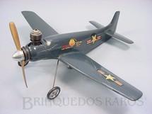 1. Brinquedos antigos - Cox - Douglas Skyraider com 32,00 cm de envergadura Motor de 1,50 cc Década de 1960