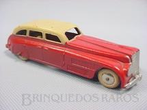 1. Brinquedos antigos - Tootsietoy - Carro Sedan com 12,00 cm de comprimento Série Jumbos Década de 1930