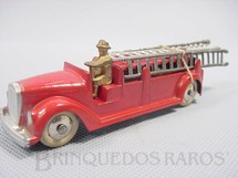 1. Brinquedos antigos - Tootsietoy - Caminhão de Bombeiros com 14,00 cm de comprimento Série Jumbos Década de 1930