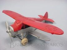 1. Brinquedos antigos - Tootsietoy - Avião Biplano Dive Bomber com 10,00 cm de comprimento Série Jumbos Década de 1930