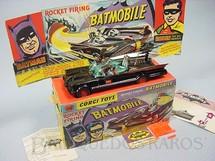 1. Brinquedos antigos - Corgi Toys - Carro do Batman Batmobile Batmóvel primeira versão completo Ano 1966
