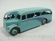 1. Brinquedos antigos - Dinky Toys - Singledeck Bus azul Ano 1940