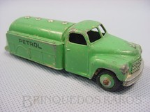 1. Brinquedos antigos - Dinky Toys - Caminhão Tanque Petrol Studebaker Tanker ano 1950 a 1952
