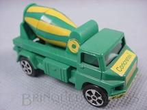 1. Brinquedos antigos - Corgi Toys-Kiko - Cement Mixer Caminhão Betoneira Versão Brasileira Brinde Concretex Brazilian Corgi Jr Kiko Década de 1980