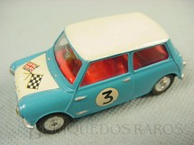 1. Brinquedos antigos - Corgi Toys - Morris Mini Cooper Competition Model Ano 1969