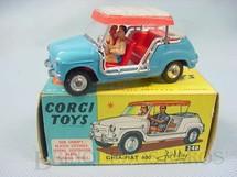 1. Brinquedos antigos - Corgi Toys - Ghia Fiat 600 Jolly Ano 1964