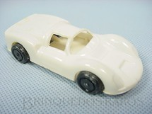 1. Brinquedos antigos - Sem identificação - Porsche Carrera apontador de lápis com 8,50 cm de comprimento Década de 1970