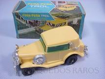 1. Brinquedos antigos - Trol - Carro avulso para Pega Pega Trol amarelo Década de 1970