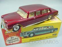 1. Brinquedos antigos - Corgi Toys - Mercedes Benz 600 Pullman Limpador de Para-Briza com movimento Ano 1968