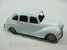 1. Brinquedos antigos - Tri Ang Minic - Austin Sheeline azul com 9,00 cm de comprimento Minic Década de 1950