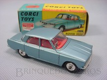 1. Brinquedos antigos - Corgi Toys - Rover 2000 Série Trans-O-Lite acende os faróis dianteiros Ano 1965
