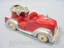 1. Brinquedos antigos - Hubley - Caminhão de Bombeiro com 10,00 cm de comprimento Década de 1940