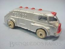 1. Brinquedos antigos - Hubley - Caminhão Tanque Texaco com 12,00 cm de comprimento Década de 1940