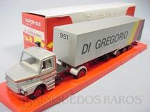 1. Brinquedos antigos - Arpra - Cavalo Mecânico Scania Vabis 112H com Carreta Di Gregório