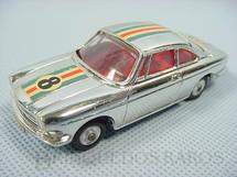 1. Brinquedos antigos - Corgi Toys - Simca 1000 Competitiom Model Cromado Ano 1965