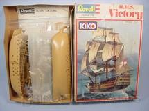 1. Brinquedos antigos - Revell - Veleiro HMS Victory navio capitânia de Lord Nelson