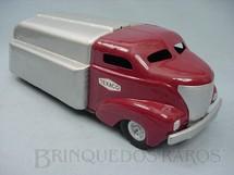 1. Brinquedos antigos - Wyandotte Toys - Caminhão tanque Gasoline Truck Texaco com 54,00 cm de comprimento Década de 1940