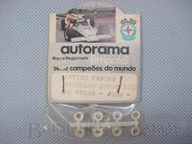 1. Brinquedos antigos - Estrela - Conjunto de arruelas espaçadoras de nylon Embalagem lacrada Década de 1970