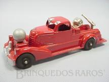 1. Brinquedos antigos - Hubley - Caminhão Bomba com 19,00 cm de comprimento Fire Pump Truck Década de 1940