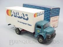 1. Brinquedos antigos - Arpra - Mercedes Benz 1513 toco Furgão Transportes Atlas