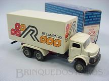 1. Brinquedos antigos - Arpra - Mercedes Benz 1513 furgão truck Relampago