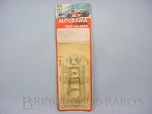 1. Brinquedos antigos - Estrela - Chassi Monobloco de Alumínio para Carros Ford GT Lola Mark III e Ford J 1:32 Embalagem Lacrada Ano 1972