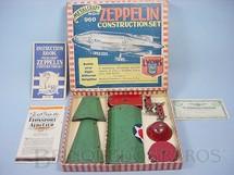 1. Brinquedos antigos - Metalcraft Co. - Conjunto para montar um dirigível Zeppelin Constructions Set Completo Década de 1920