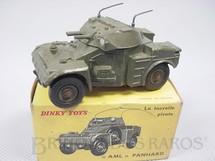 1. Brinquedos antigos - Dinky Toys - Panhard Armoured Car Década de 1960