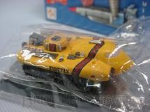 1. Brinquedos antigos - Konami - Veículo Thunderbirds Firefly com 8,00 cm de comprimento Década de 1990