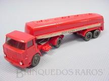 1. Brinquedos antigos - Wiking - Cavalo Mecânico Henschel com carreta tanque Esso Extra Motor Oil Década de 1960