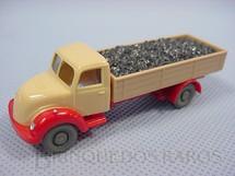 1. Brinquedos antigos - Wiking - Caminhão Magirus Deutz 1939 carga seca Transporte de carvão.