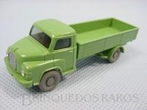 1. Brinquedos antigos - Wiking - Caminhão Man Diesel carga seca, verde