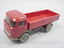 1. Brinquedos antigos - Wiking - Caminhão Mercedes Benz cara-chata carga seca