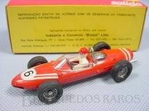 1. Brinquedos antigos - Solido-Brosol - Ferrari 156 Fórmula 1 Shark Nose Fabricada pela Brosol Solido brésilienne Década de 1970