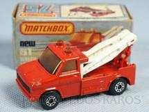 1. Brinquedos antigos - Matchbox - Wreck Truck Superfast vermelho