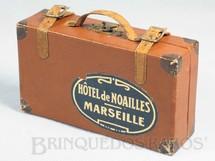 1. Brinquedos antigos - Sem identificação - Mala de Viagem com 14,00 cm de largura por 8,00 cm de altura Década de 1930