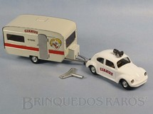 1. Brinquedos antigos - Kovap - Volkswagen Sedan Cirkus com Trailer 30,00 cm de Comprimento