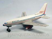 1. Brinquedos antigos - Modern Toys e Masudaya Toys - Boeing 737 com 32,00 cm de comprimento Ano 1967