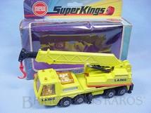 1. Brinquedos antigos - Matchbox - Guindaste Hercules Mobile Crane Truck Super Kings