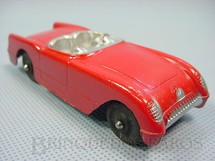 1. Brinquedos antigos - Tootsietoy - Chevrolet Corvette com 11,00 cm de comprimento Década de 1950
