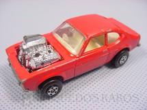 1. Brinquedos antigos - Matchbox - Inbrima - Hot Rocker Rola-Matics vermelho Brazilian Matchbox Inbrima 1970