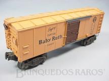 1. Brinquedos antigos - Lionel - Vagão 2454 Box Baby Ruty Pennsylvania Ano 1946