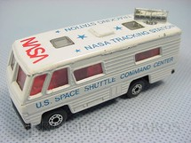 1. Brinquedos antigos - Matchbox - NASA Tracking Vehicle Superfast
