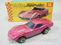 1. Brinquedos antigos - Esdeco - Corvette Special Muky Superveloz cópia da Custom Corvette lançada pela Hot Wheels em 1968 Década de 1970