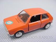 1. Brinquedos antigos - Schuco-Rei - Volkswagen Golf LS laranja Schuco Modell Brasilianische Schuco Rei