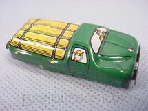 1. Brinquedos antigos - T.N. - Caminhão de Toras com 6,00 de comprimento Década de 1970